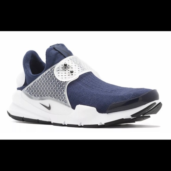 RETAIL $130.00 NIKE MENS SOCK DART RUNNING SHOES #819686-400